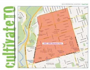 East York Hub Map